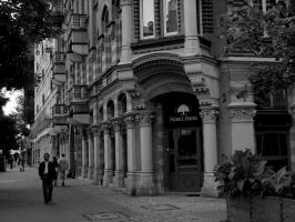 in the city center... by HeretyczkaA