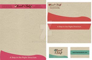 Heart and Sole Stationary and Business card by quidprosno