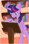 Twilight Reads by ShadeFox