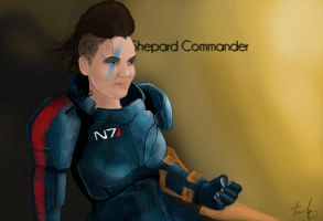 Shepard Commander by RomanianGuy
