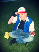 Ash Ketchum Cosplay - Pokemon by kyuubi-1993