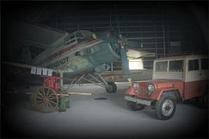 Museum of ancient transport by NikolaiMalykh