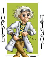 Stu's Doctor Emmett L Brown by MirrorwoodComics