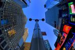 Bug eye at Times square by myist