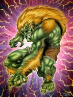 Blanka Colored by RonDesignStudio