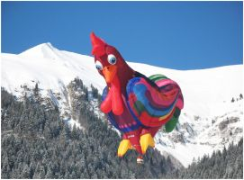 Swiss Rooster In The Sky by Astrantia01
