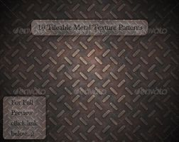10 Tileable Metal Texture by MuzikizumWeb