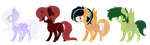 Mlp Adopts (3/4 OPEN) by puddycat431