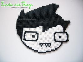 Commission: John Egbert face hama by NyanRuki