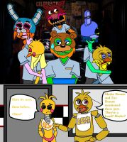 Electric Mayhem at Freddy's by IDontLikeCoffee22
