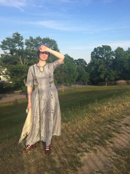 Summer dress 1913 style by ProfessorBats