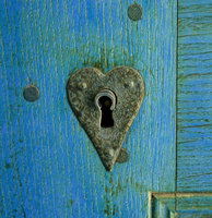 My blue door by Kilica