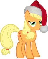 AppleJack Christmas by RageRex