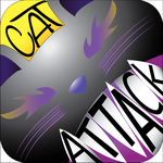 Cat Attack Logo by nizzie12