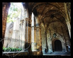 barcalona cathedral by DeepKick
