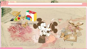 Theme - Micky and Mini Vintage by SriitaDeWatt