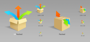 Icons. Packager by KriGH