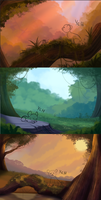 3 YCH Backgrounds-CLOSED- by Kitchiki