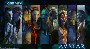 Team Na'vi by KvornanTheLafesta