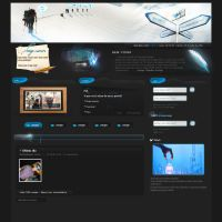 Thunder Design - Web Layout by evilex