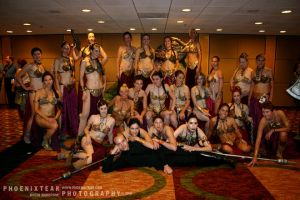 DC: Slave Leia Shoot by Phoenixtear