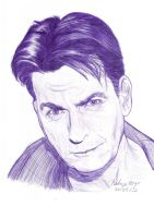 Charlie Sheen by Rodigojb