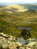 Transalpina Lake, Romania by IuliaAnda