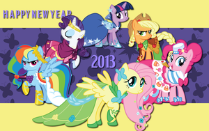 New Year WP by AliceHumanSacrifice0