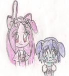 Widget and Daizy Hair Switch by QueenMariposa