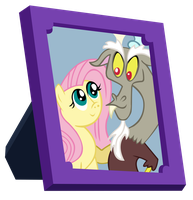 Fluttershy and Discord Picture by Indigo114