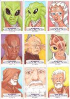 Star Wars Galactic Files Series 2 Sketch Cards 09 by Tyrant-1