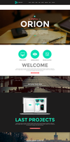 Orion a responsive One Page Wordpress Template by the-webdesign