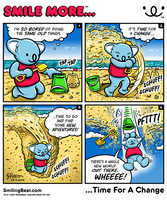 New Webcomic: Smile More Time For A Change by RealSmilingBear