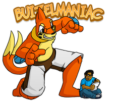 Buizel IDv5 with Buizilla by buizelmaniac