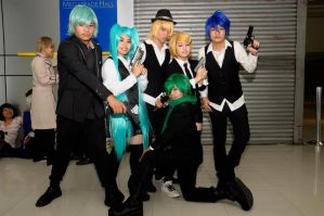 Vocaloid Mafia ver. by LenaleeExorcist