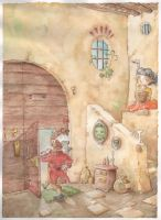 Ogre's House-The talking three (Luigi Capuana) by MassimilianoFavazza