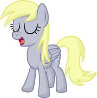 Derpy talking by moemneop