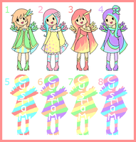 Chibi Adoptables and Customs - 5 points [CLOSED] by Akira-Melody