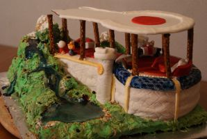 King Will's Castle Cake by Band-Geek24