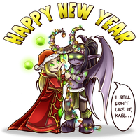 new year! by Tintariel