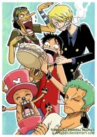 Happy Birthday ONE PIECE by vtophya