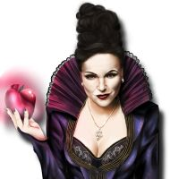 Once Upon A Time | Evil Queen Regina by AnimeFreak-Denise