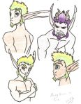 Many Faces Of Jak by SinLikeUMeanIt