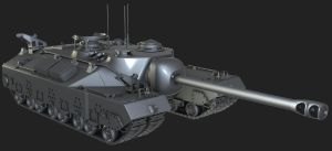 T-28 Heavy Tank by martynball