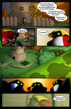 S.T.C Issue 9 Page 2 by Okida