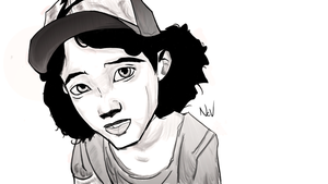 Clementine from The Walking Dead (Talltale games) by NevunDGN