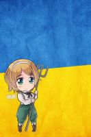 Hetalia iWallpapers - Ukraine by Dreamweaver38