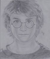 harry potter in goblet of fire by doodlingsketch