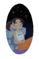 Chell by KeithAErickson