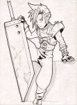 Cloud Strife by TisGrief